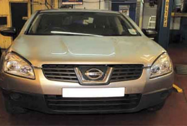 How to change a clutch on a Nissan Qashqai