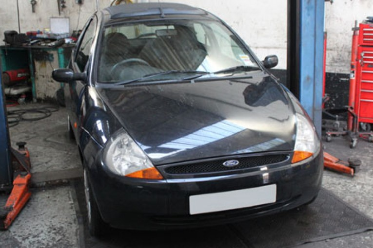 How To Change A Clutch On A Ford Ka