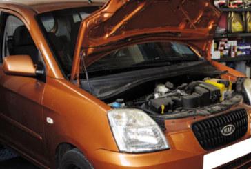 How to change a clutch on a Kia Picanto