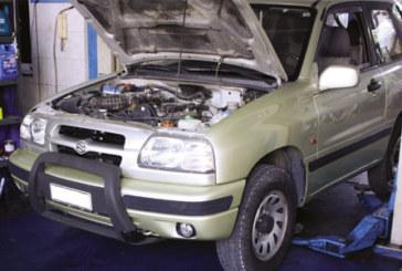 How to fit a clutch on a Suzuki Grand Vitara