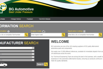 BG Automotive – Online catalogue