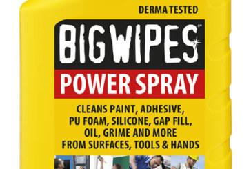 Big Wipes – 4×4 Power Spray