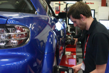 Wheel alignment takes centre stage at The Skills Show