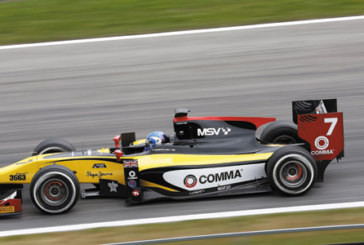 Formula 1 graduation for Comma's sponsored driver, Jolyon Palmer