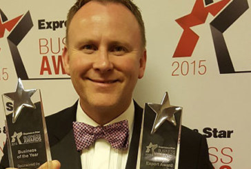Exol wins highest accolade at Express & Star Business Awards 2015