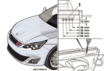 How to fix an intermittent engine warning light issue on a Peugeot 308