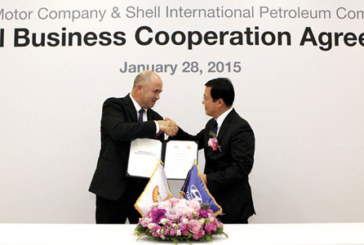 Hyundai recommends Shell as preferred aftermarket oil supplier