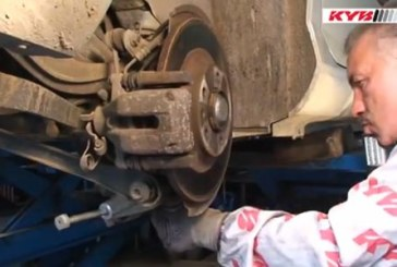 Rear shock absorber replacement – Peugeot 407