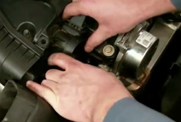 Air Mass Sensor replacement – BMW 520 D