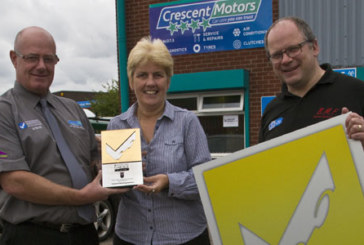 Crescent Motoring Services retains Garage of the Year prize