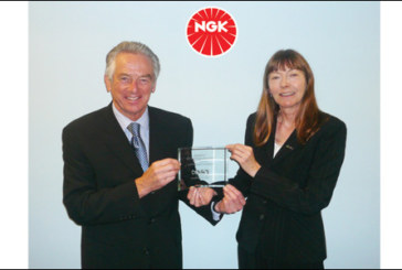 Fund-raising award for NGK Spark Plugs (UK)