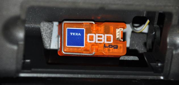 Product Test – TEXA OBD Log