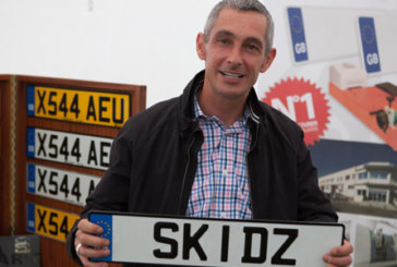Number plates are a Samar't way to support SKIDZ