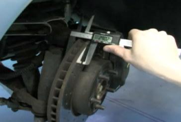 Laser Tools – Brake disc measuring tool
