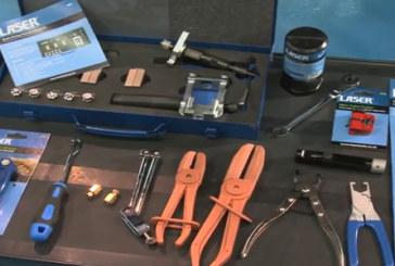 Laser Tools – Fluid lock kit and brake service tools