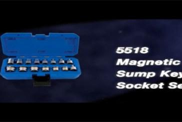 Laser Tools – Magnetic sump key and socket set