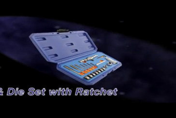 Laser Tools – Tap & Die set with ratchet
