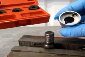 Laser Tools – Wheel stud thread restorer
