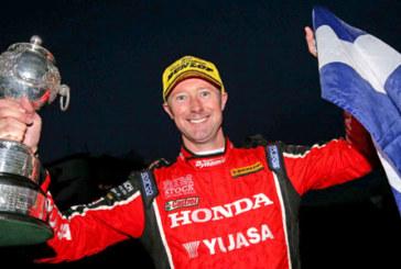 Honda Yuasa Racing's Gordon Shedden wins BTCC title
