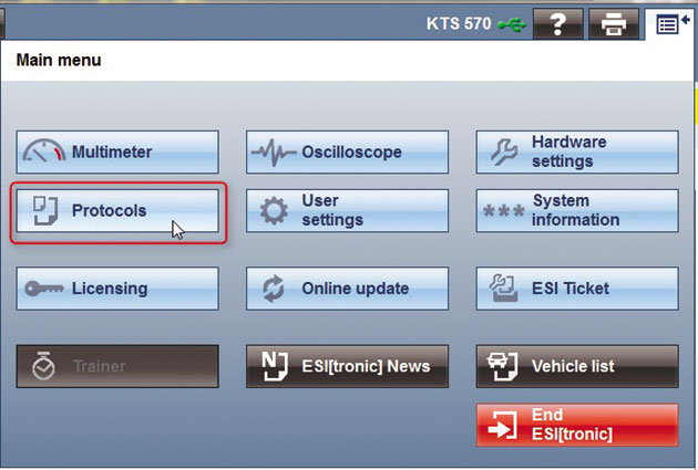 KTS diagnotics made 'ESI'