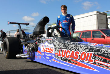 Cool wrap for Lucas Oil