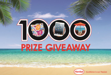 1000 prizes up for grabs in Henkel's grand prize draw