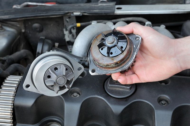 What's driving water pump replacement?