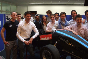 Makita Power Tools supports Team Bath Racing Electric