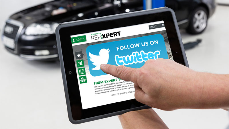 REPXPERT is now on Twitter