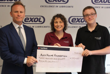 Exol Lubricants kicks off 2016 fundraising