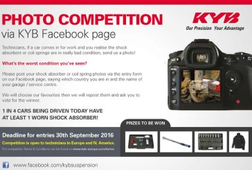 KYB Launches Facebook Photo Competition