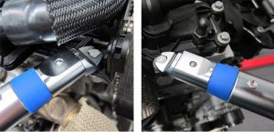 """Laser Tools 6167 Torque Wrench 1//4/""""D 9 Heads"""