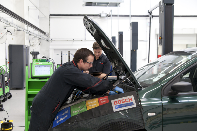 Review on the Bosch Light Vehicle Inspection Training