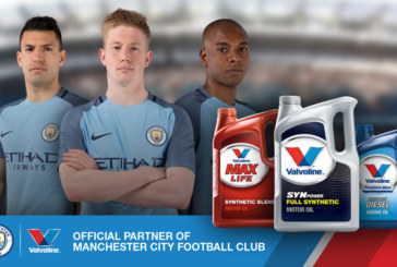 Manchester City Keeps Moving With Valvoline