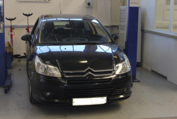 How to fit a clutch on a Citroen C4