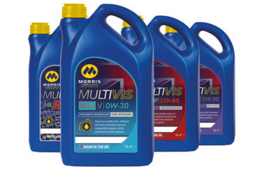 Morris Lubricants Drives Forward Automotive Engine Oil Brand Under Multivis Banner