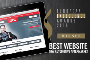 Best Website Award for trwaftermarket.com