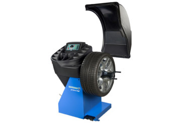 Laser & Sonar Wheel Balancer