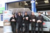 Delphi braking van brings a 'Taste of America'