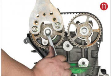 How to Fit a Timing Belt on a Ford Fiesta