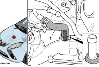 Engine Coolant Leak on Vauxhall Zafira
