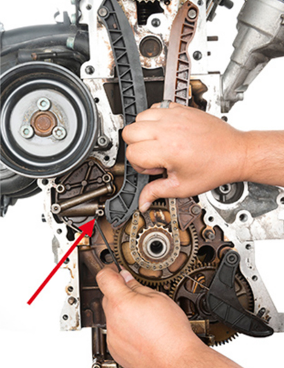 Timing Chain Replacement on a VW Polo - Professional Motor