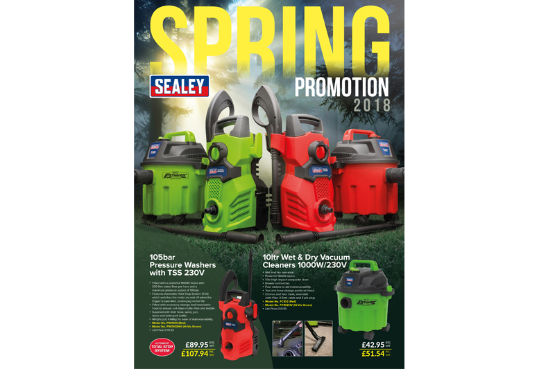 Sealey 2018 Spring Promotion
