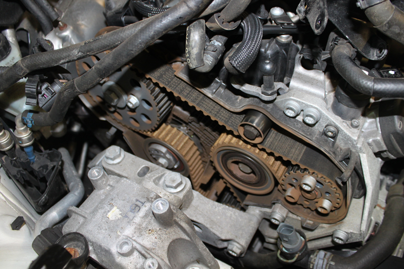 how to fit a timing belt on a volkswagen scirocco - professional motor  mechanic  professional motor mechanic