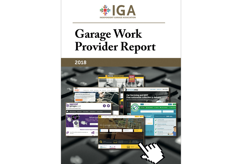 IGA Publishes Report Investigating Garage Work Providers