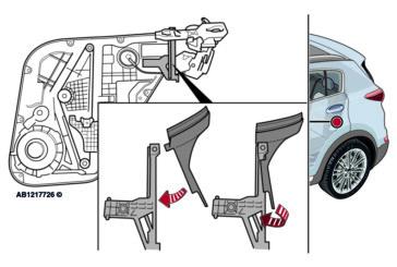 Door Open Warning Message Displayed – Kia Sportage