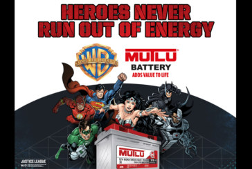 Mutlu Battery Announces DC Super Heroes Collaboration