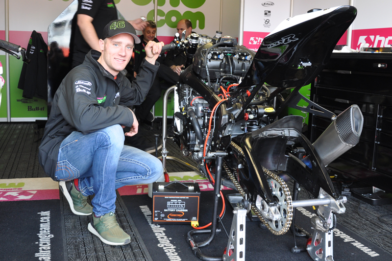 Traction Charger & British Superbikes