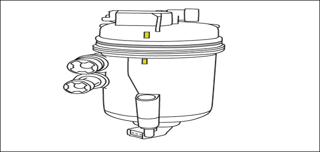 how to perform a diesel fuel filter removal