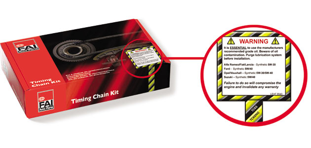 Why timing chain kits rely on vehicle-specific lubrication